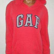Women's Gap Sweatshirtwild Hibiscus Hoodiepull-on Red-Blue Logo Jacketsmall S Photo