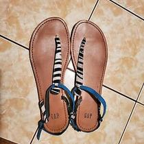 Women's Gap Thong Flat Sandals Size 8  Photo