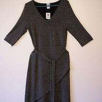 Women's Gap White and Black Geometric Pattern Dress -  Size M Photo