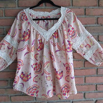 Women's Gap Xxl Peasant Style Summer Top Photo
