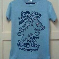 Women's Genuine Grey Kitty the Big Bang Theory Size S (8-10).offers Welcome. Photo