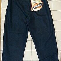 Women's Ghostbusters Denim Dickies Pants  Large  Dark Blue Photo