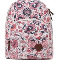 Women's Girls Roxy Harmony Floral Backpack Multi Logo  School Bag New 55 Photo
