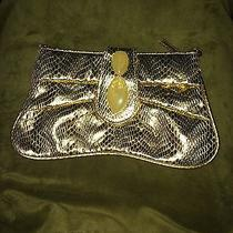 Women's Gold Bandolino Clutch Photo