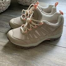 Womens Good Year Stryker Hiking Boots Taupe/blush Size 7 Photo