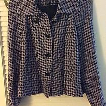 Women's Grace Elements purple&black Jacket Sz 8 From Macy's Photo