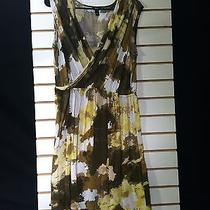 Women's Green Multi-Color Dress by Mossimo (00763) Photo