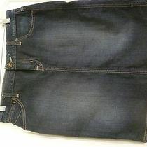 Women's  Guess Jeans  Denim Skirt Size 28    Photo