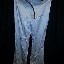 Women's h&m Khaki Belted Dress Pants Size 6 Solid Excellent Condition Photo