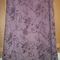 Women's H & M Lined Skirt Tie Waist Size 16 Photo