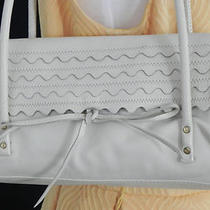 Women's Hand Bag /  Sigrid Olsen /  Cream Color / Leather  Photo