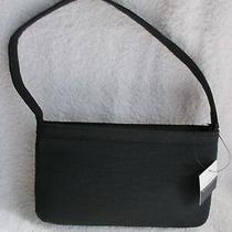 Women's Handbags & Purses Liz Claiborne Black Cloth Strap Embroidery New Withtag Photo