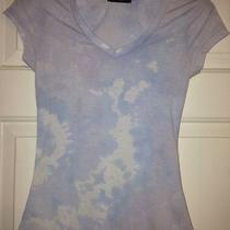 Women's Handmade Designer Tie-Dyed T Shirt Purplevintage Acid Trendy Look Sz M Photo