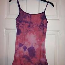 Women's Handmade Designer Tie-Dyed Tank Top Shirt Purple Trendy Look Size Xxl Photo
