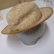 Women's Hat Hudson's Made in Italy 10% Wool Tan/beige Photo