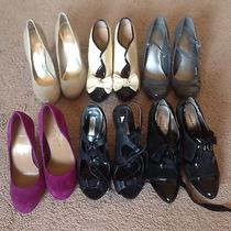 Women's Heels Lot Vera Wang Nine West Jessica Simpson and Others Photo