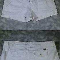 Women's Hollister Co Size 1 White Shorts Photo