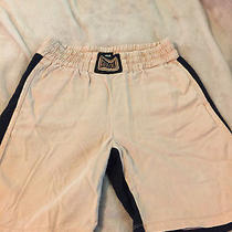 Women's Hudson Boxer Style Shorts Pink/black - Size Medium Photo