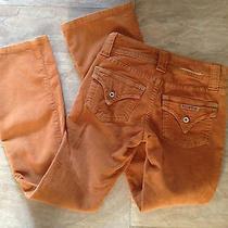 Women's Hudson Cords Tuscan Orange - Size 2 Short- W/ Rear Flap Pockets Photo