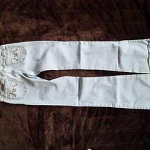 Women's Hurley Jeans Size 1 Light Denim Photo