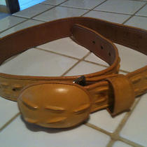 Women's Imitation Crocodile Belt Photo