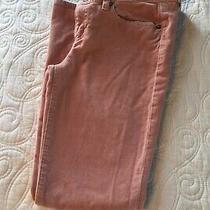 Women's J.crew Toothpick Soft Brushed Denim Jeans Blush Pink Size 25 Photo