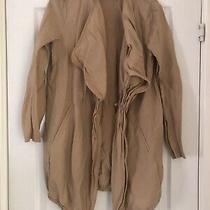 Womens Jacket Light Weight Brown Camel Colour Zara Size S Photo
