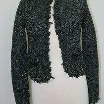 Women's Jacket Sweater Cardigan Express Open Front Size Small Photo