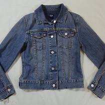 Women's Jean Jacket- Gap- Size Small- Cute Coat- Blue Denim- Summer Clothes- S Photo