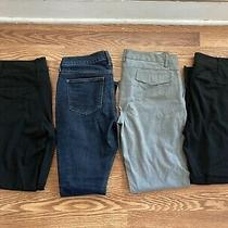 Womens Jeans Pants Lot of 4 Size 6 Old Navy the Gap Slacks Chinos Photo