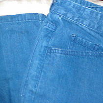 Women's Jeans Silvertab Levi's sz.1m Euc Drkblu28x31 Flair Made in Turkey Photo