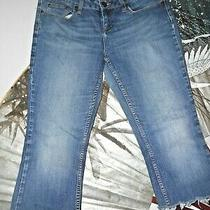Women's Jeans Size 13 by American Rag Cie-Cropped/cutoff Jeans.  Photo