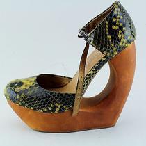 Women's Jeffrey Campbell Slip-on Heels Size 6 Photo