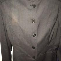 Women's John Varvatos Gray Blazer Photo