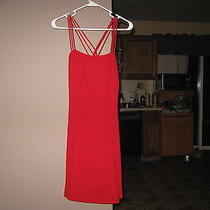 Women's/ Jrs Rampage Red Dress Size 9 Photo