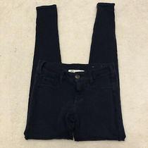 Women's Junior's Aeropostale Jeans Pants Size Xs Jegging Skinny Dark Blue Photo
