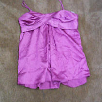 Women's/junior's Rampage Spaghetti Strap Dressy Top  Size Medium  Free Shipping Photo