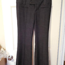Women's Junior's Vanity Dark Gray Addison Business Dress Pants Size 9 Nwt Photo