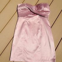 Women's Juniors Satin Blush Pink Dress Photo