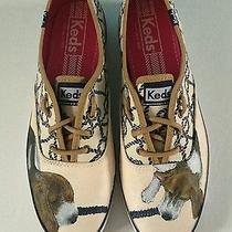 Women's Keds Custom Painted Beagles 8 Sneakers Dogs Puppies Shoes  Photo