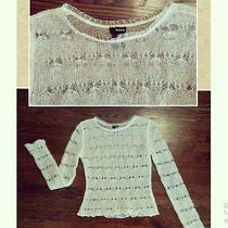 Women's Kenzie Cream Sweater (Mohair/nylon/acrylic) Size Small/petite Photo