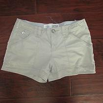 Women's Khaki Converse One Star Shorts Sz 6 (Preown)  Photo