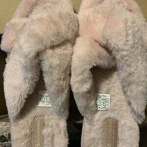 Women's Koolaburra by Ugg Ballia Slide Slipper Pale Blush Faux Fur Fabric Photo
