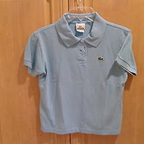 Women's Lacosta Polo Shirt - Aqua Photo