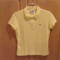 Women's Lacosta Polo Shirt - Yellow Photo
