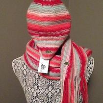 Women's Lacoste Beanie & Scarf - Lacoste Women's Hat & Scarf Photo