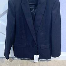 Women's Lacoste Navy Blue Blazer Sport Coat New With Tags Size 40 80s Inspired Photo