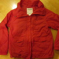 Women's Lacoste Red Outdoor Jacket Size 42 Photo