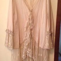 Women's Lacy Medevil Shirt  20w Newport News Blouse Steampunk Goth Lane Bryant Photo