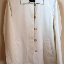Women's Ladies White Jacket 100% Cotton by Coach Photo